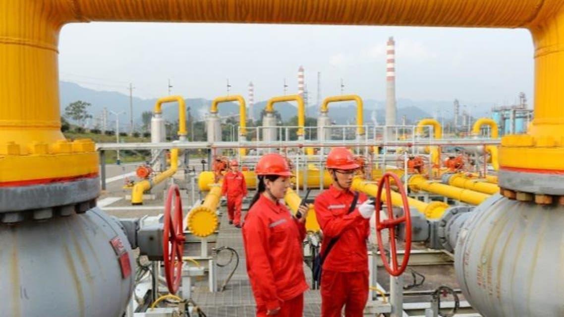 سينوبك الصينية النفط الصين