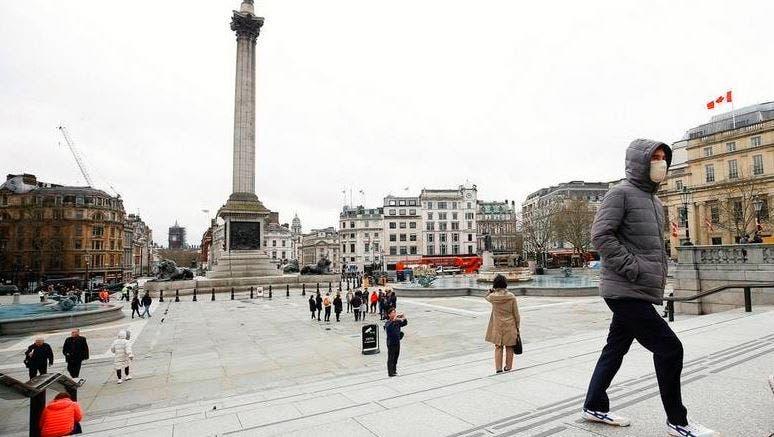 كورونا بريطانيا سياحة لندن