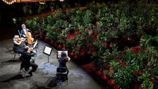 As coronavirus lockdown lifts, plants fill seats at Barcelona opera house concert