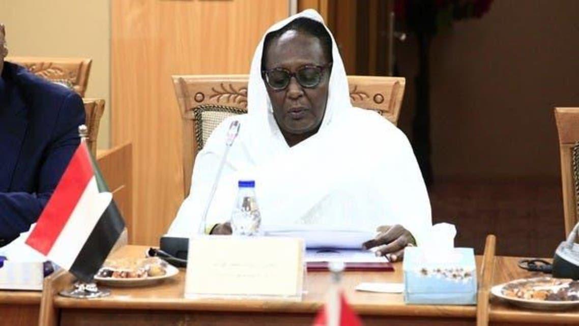 Sudanese FM Asmaa Abdullah