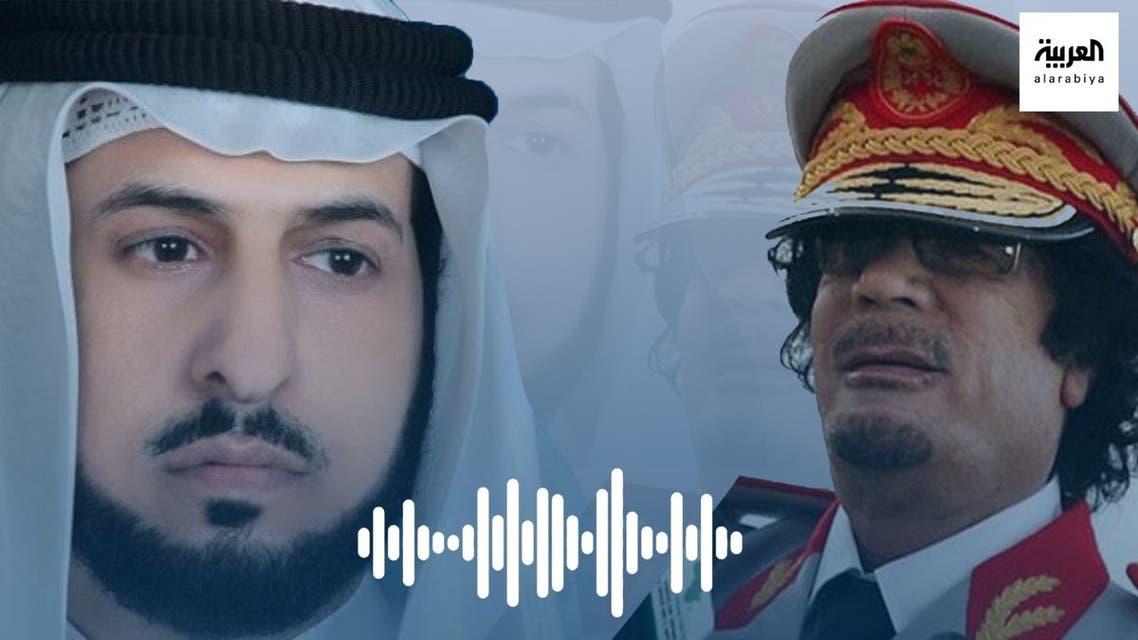 معمر القذافي و حاكم المطيري - خاص العربية.نت