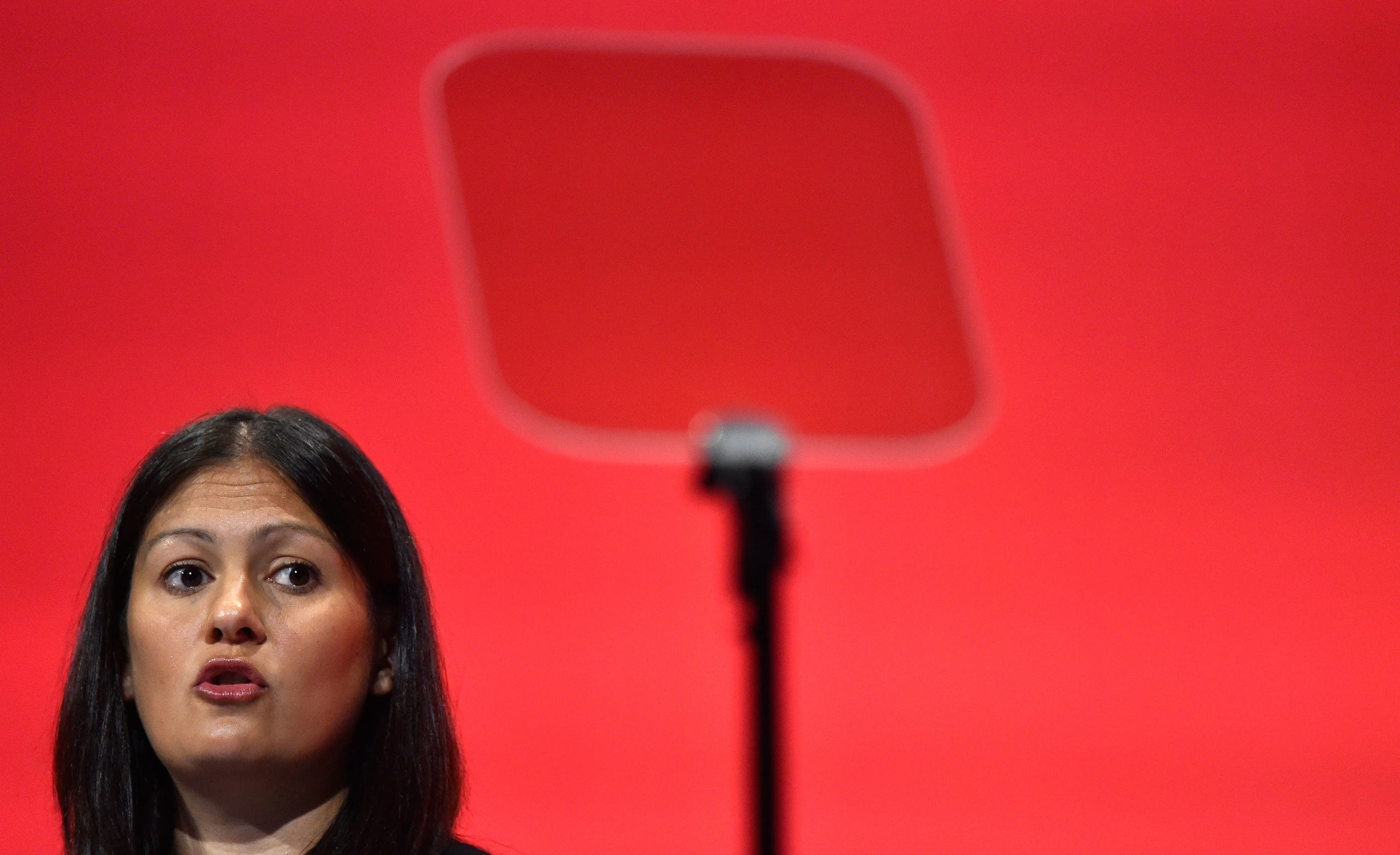 Labour Party foreign affairs spokeswoman Lisa Nandy, September 2015. (Reuters)