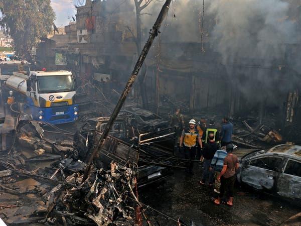 مقتل شخصين وإصابة 9 في انفجار دراجة نارية في عفرين
