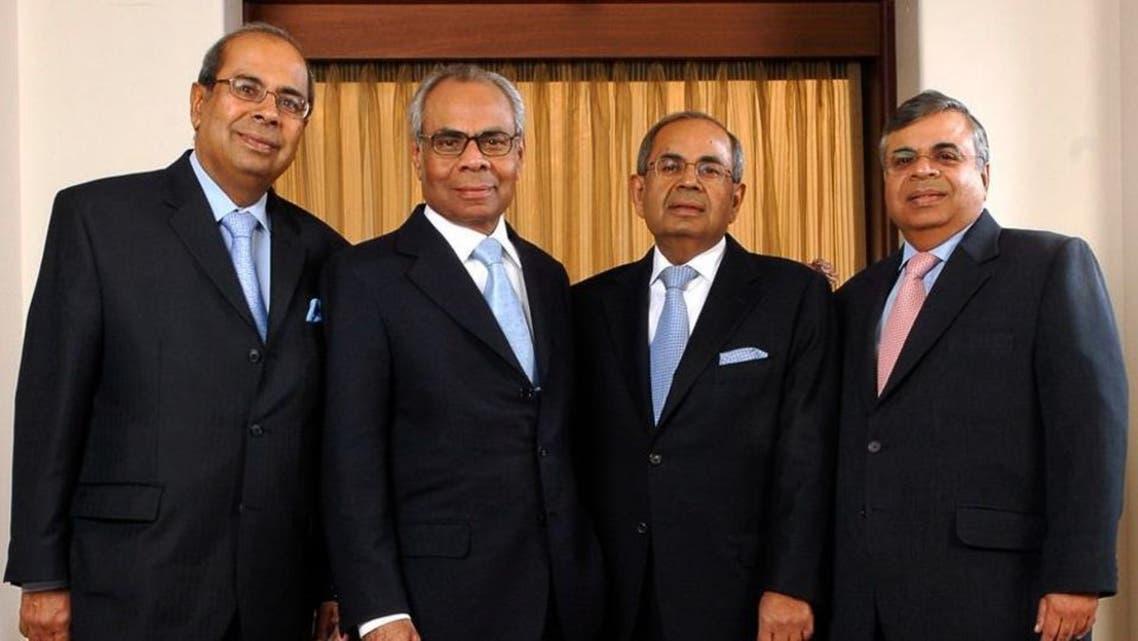 الأشقاء الهنود  الأربعة