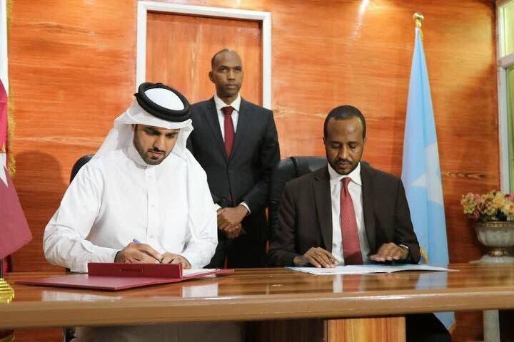 صفقة سابقة بين قطر والصومال (أرشيفية)