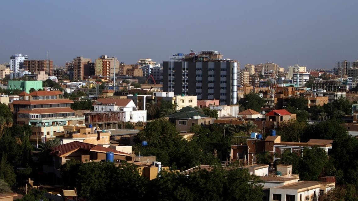 A general view shows the skyline of the Sudanese capital Khartoum on April 21, 2010. (AFP)