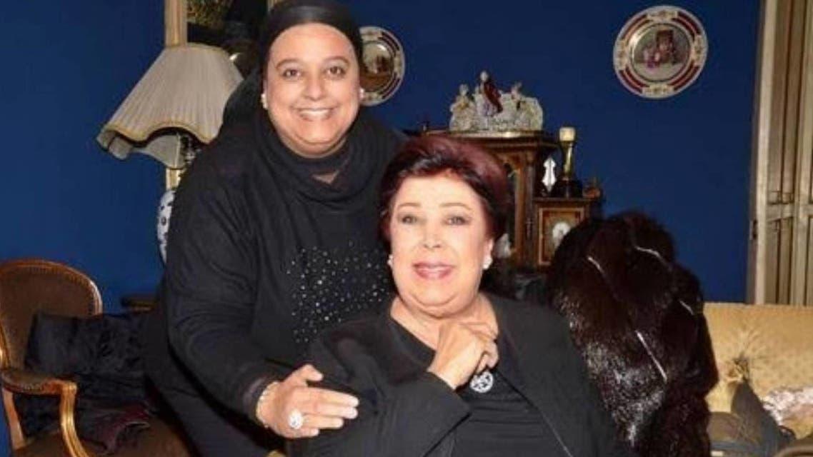 رجاء الجداوي وابنتها أميرة مختار