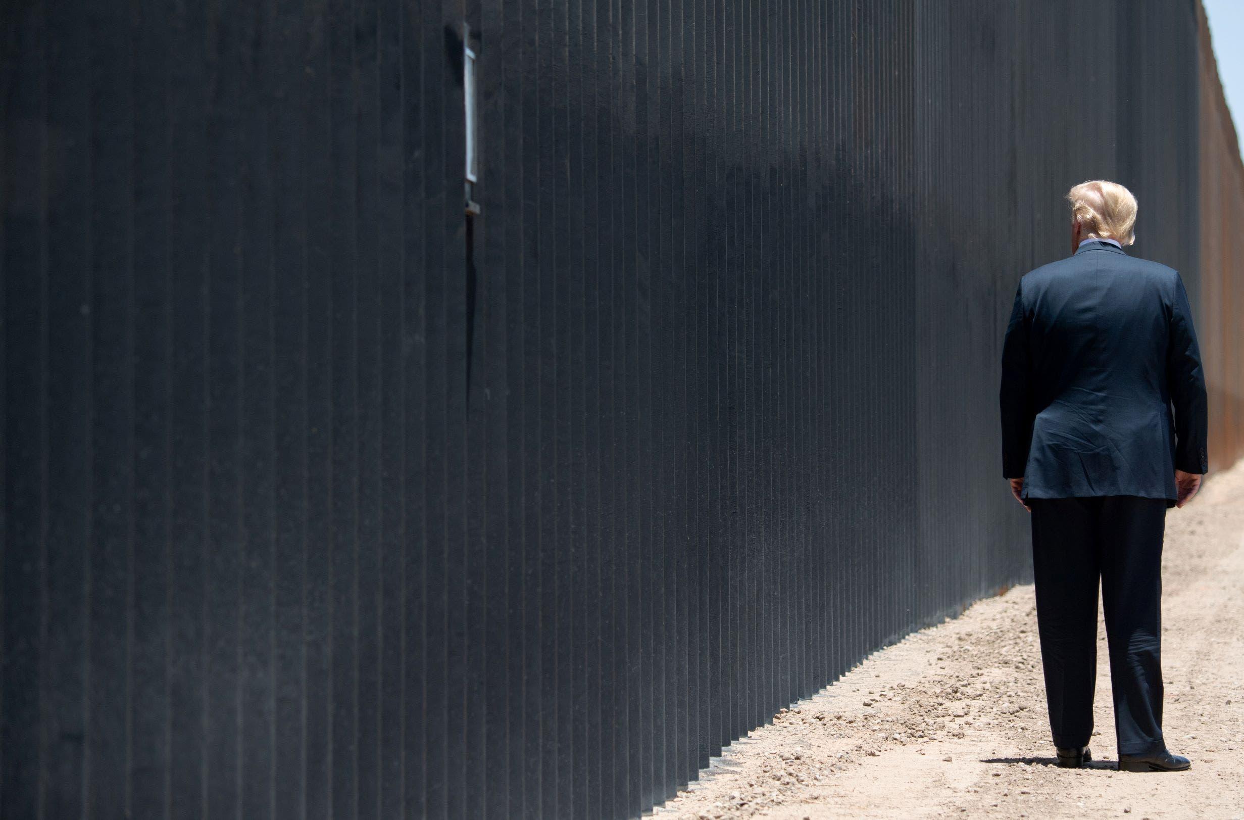 ترمب - جدار المكسيك