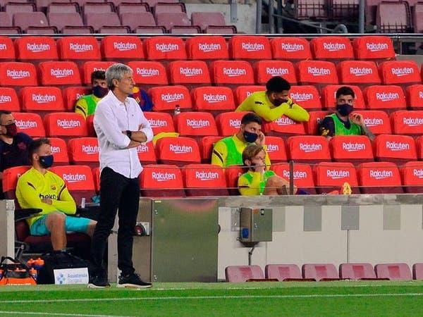 كيكي سيتيين يعترف: برشلونة بعيد عن مستواه