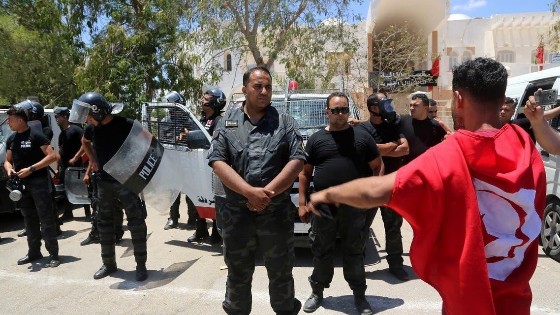 AFP_Tunisia protests