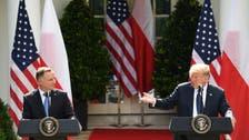Polish president urges Trump to keep US troops in Europe