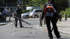 Violence against police will not be tolerated, says UK after 22 officers attacked
