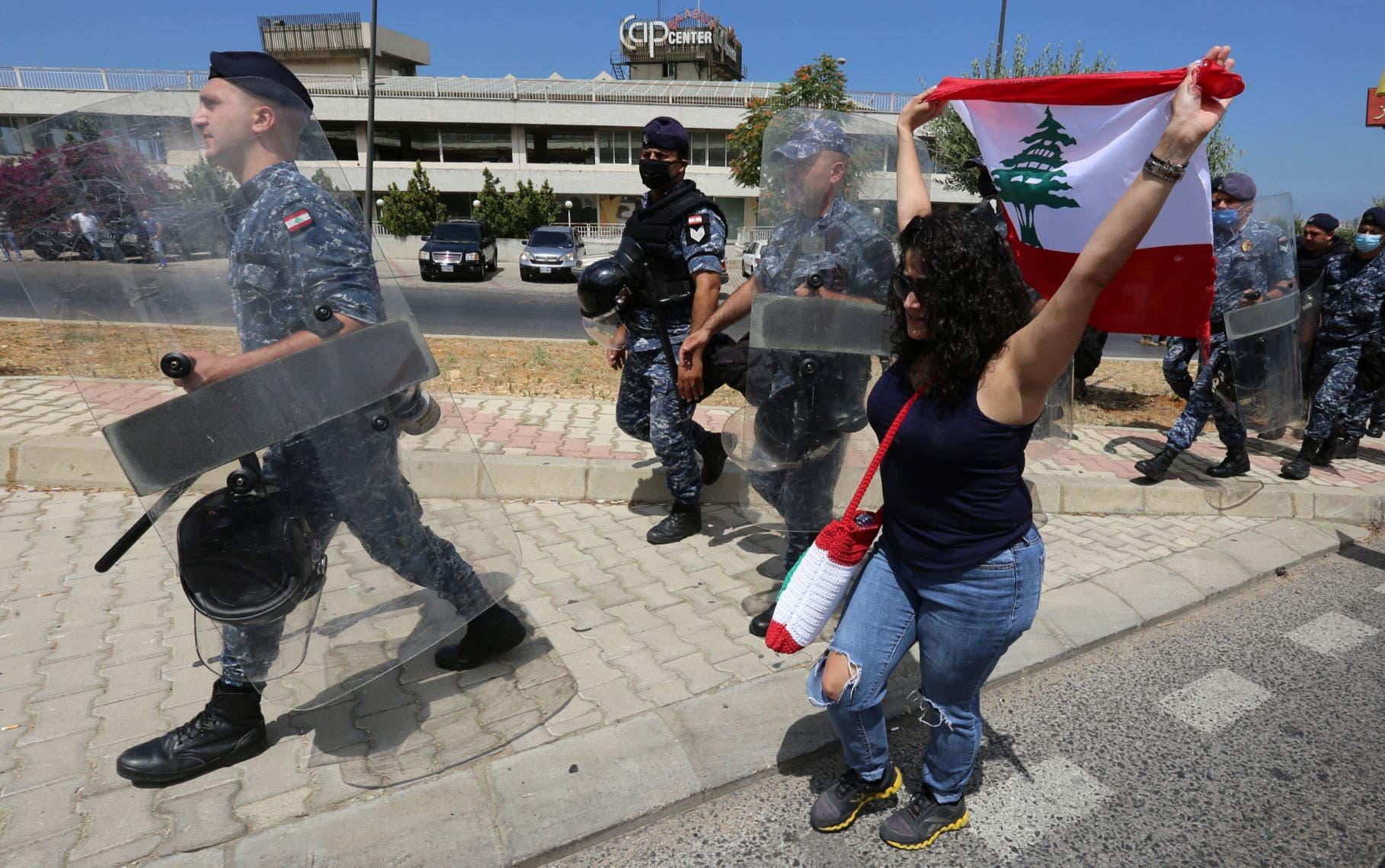 احتجاجات لبنان - رويترز ( 25 يونيو 2020)