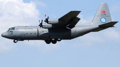 یک هواپیمای دیگر ترکیه دهها تن از مزدوران را برای جنگ به لیبی منتقل کرد