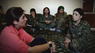 المقاتلات العربيات ضد داعش