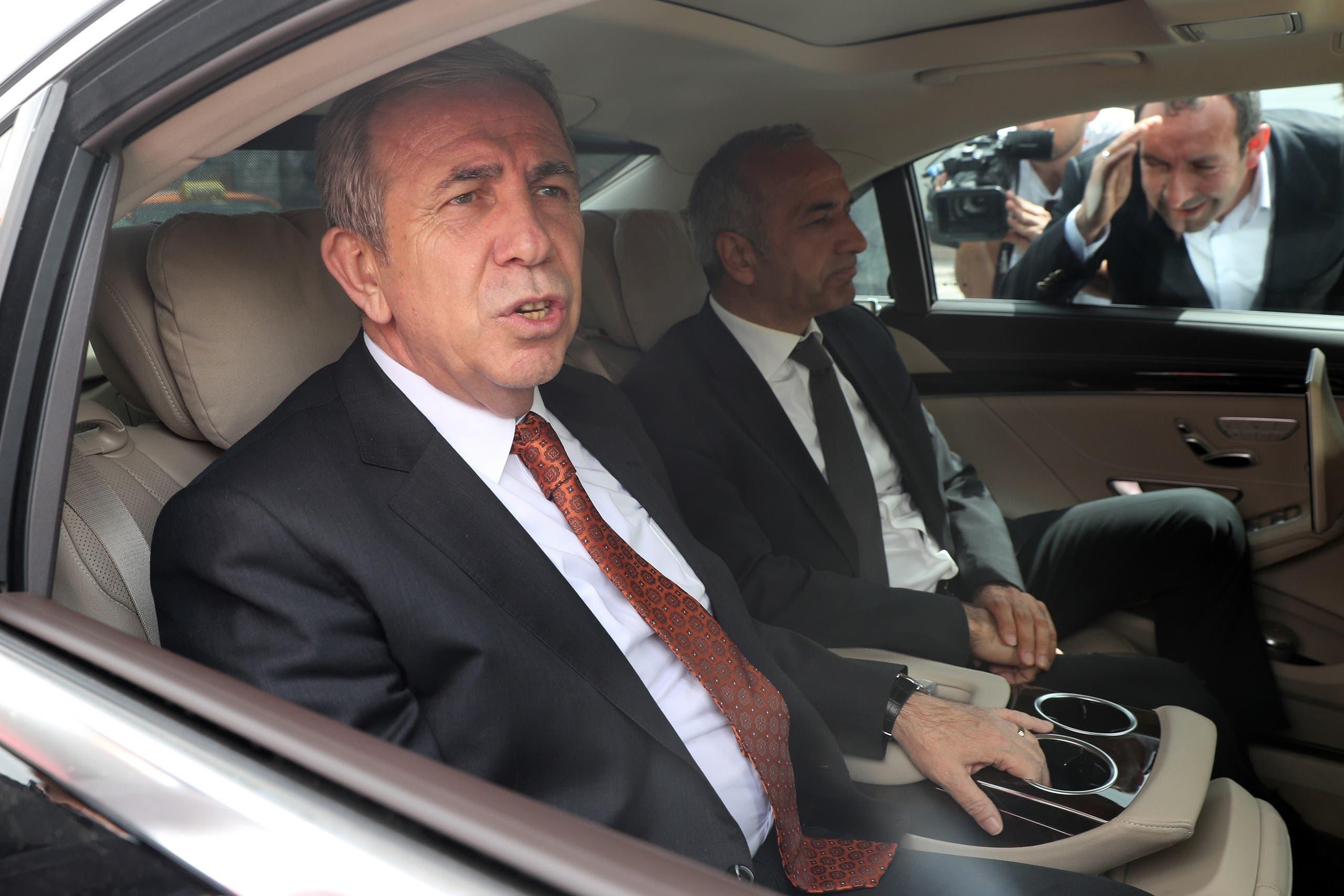 منصور يافاس رئيس بلدية أنقرة (فارنس برس)