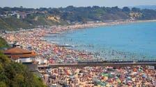 برطانیہ : گرمی سے بے حال عوام احتیاطی تدابیر بھلا کر ساحل سمندر پر