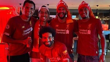 """فندق """"سري"""" يستضيف احتفالات لاعبي ليفربول"""