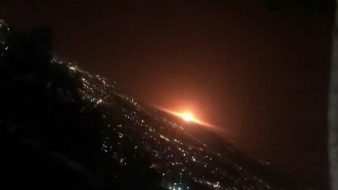 Explosion in eastern Tehran