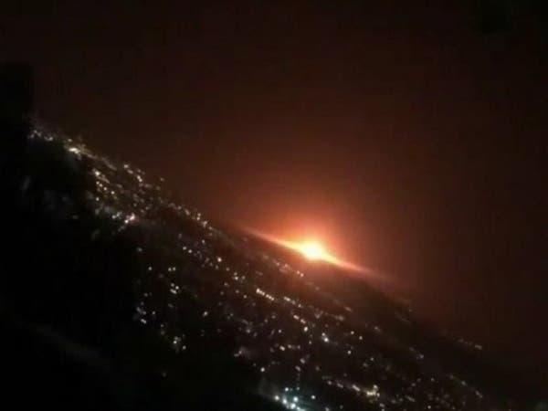 في موقع حساس... انفجار ضخم قرب طهران