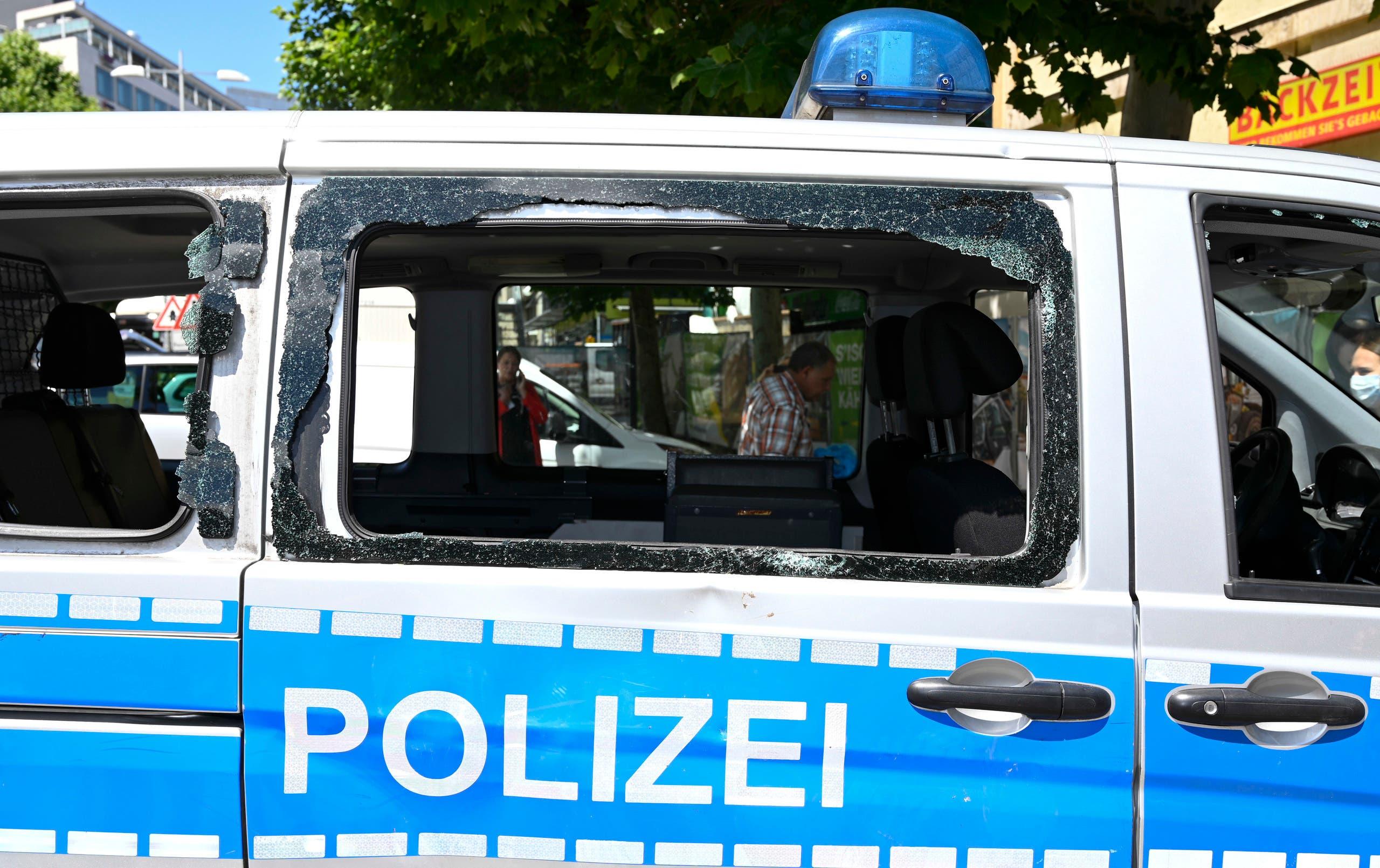 من الشرطة الألمانية (فرانس برس)