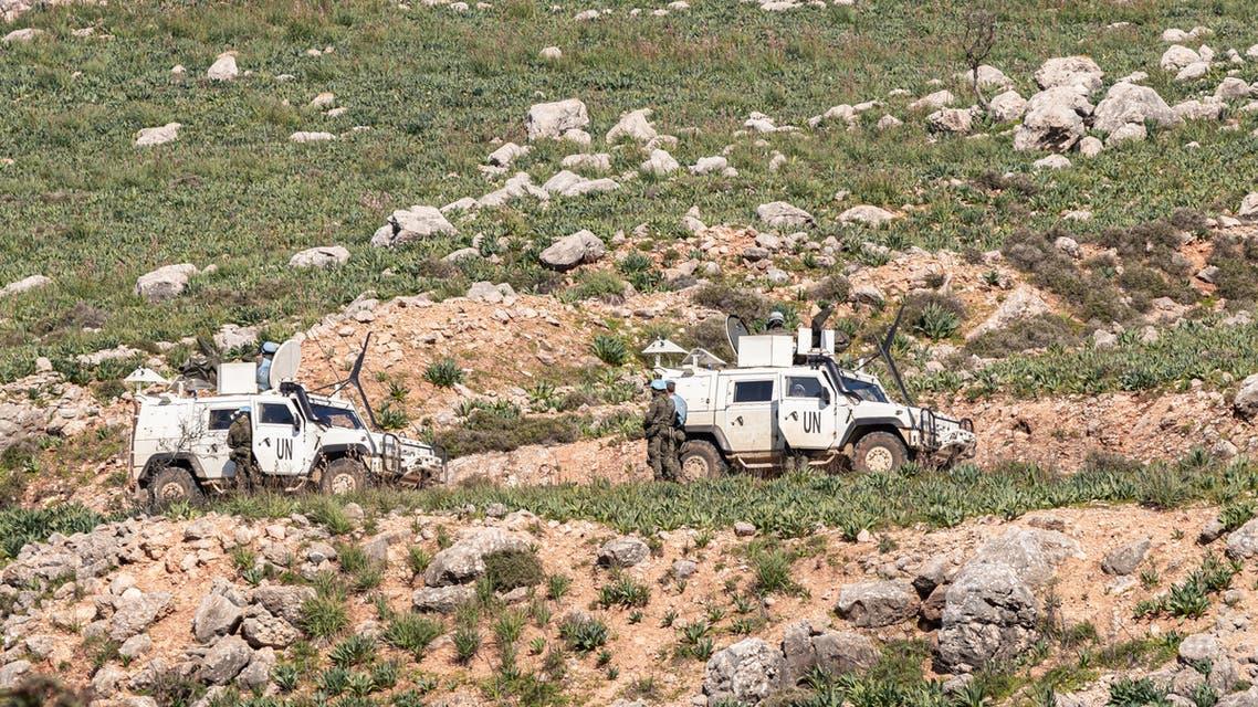 iStock سيارة أمن للأمم المتحدة