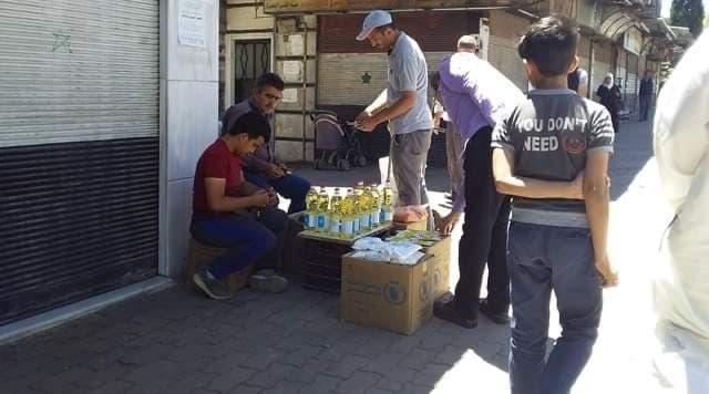 مساعدات أممية في سوريا