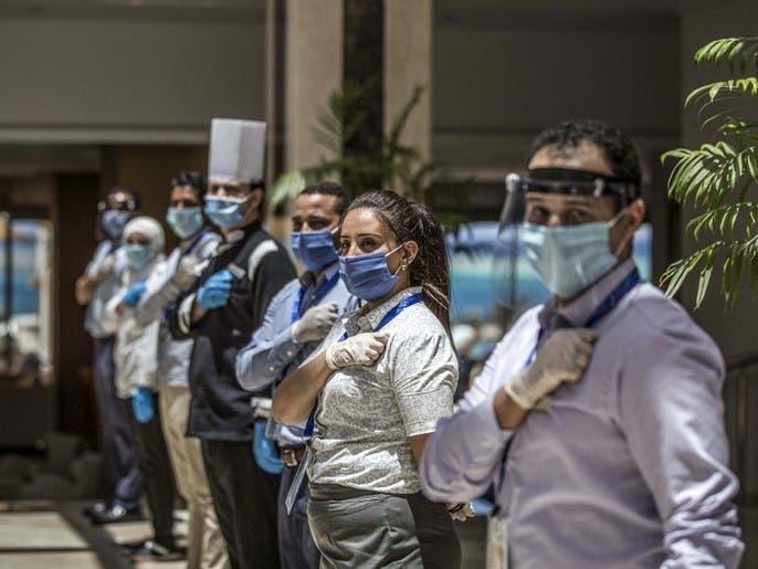 مصر تسجل 128 إصابة جديدة بفيروس كورونا و6 وفيات