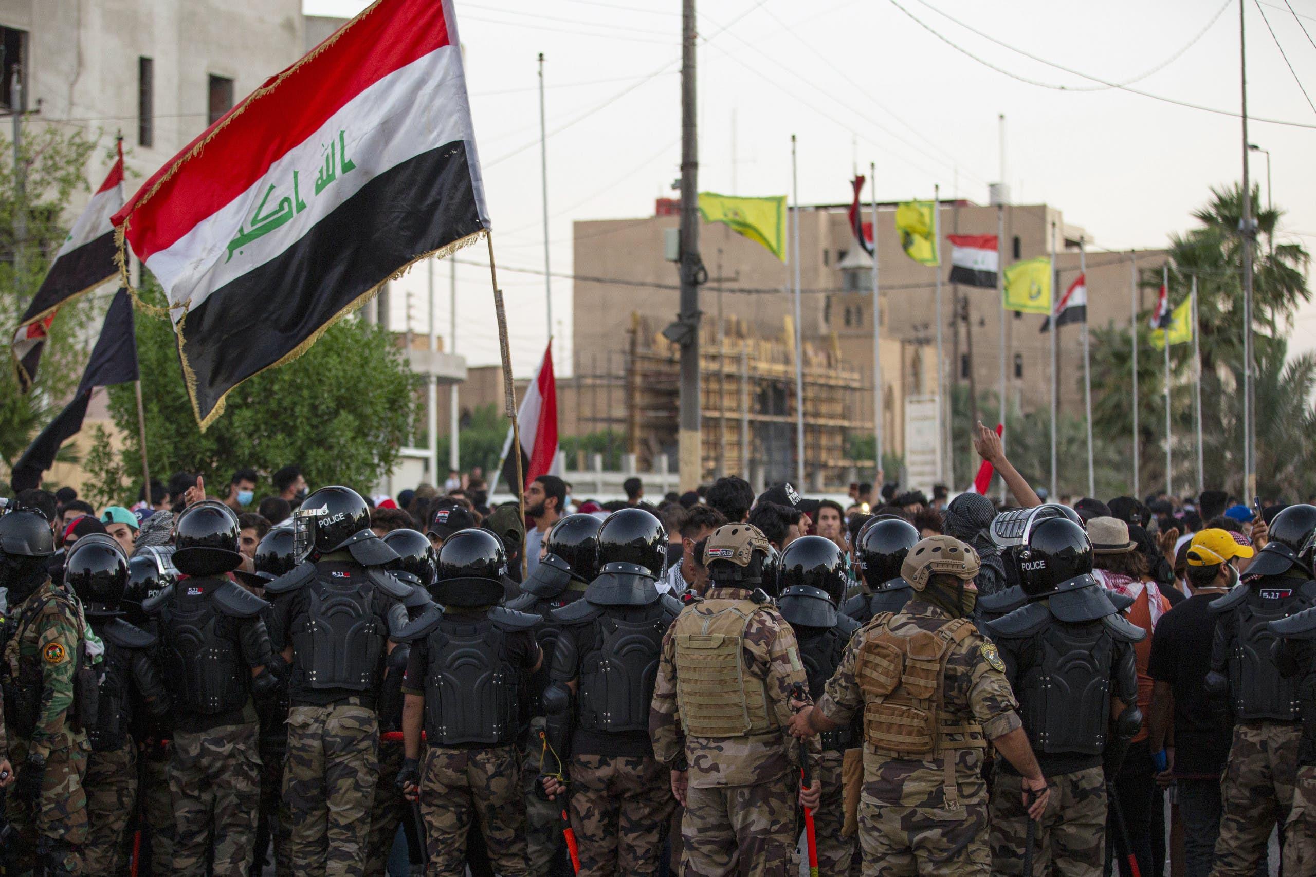 عناصر  من القوى الأمنية العراقية (أرشيفية- فرانس برس)