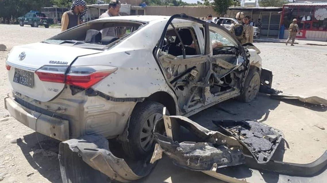 انفجار در کابل؛ دو کارمند کمیسیون مستقل حقوقبشر افغانستان کشته شدند