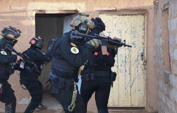 عناصر من جهاز مكافحة الإرهاب في العراق