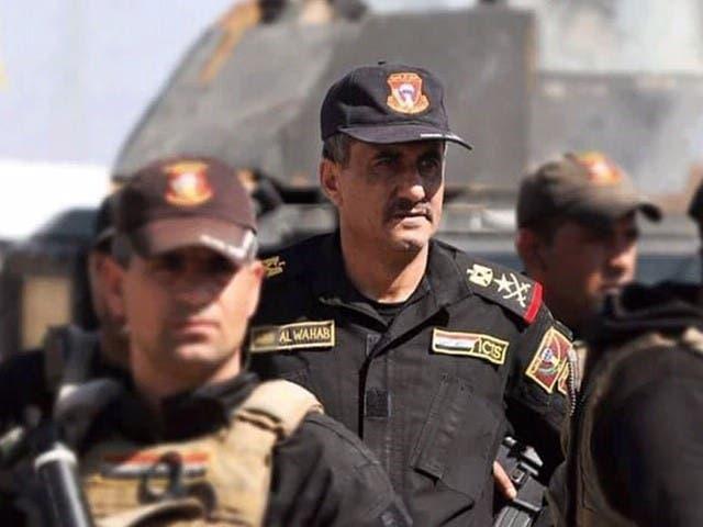 قائد  جهاز مكافحة الإرهاب في العراق عبد الوهاب الساعدي