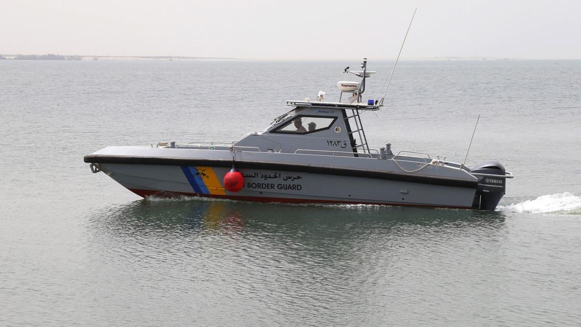 Saudi Arabia's maritime border guards in a boat. (File photo: Reuters)