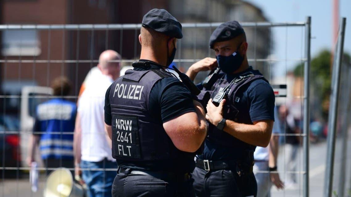 عناصر من الشرطة الألمانية (فرانس برس)