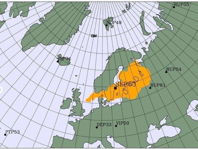 تزايد النشاط الإشعاعي في شمال أوروبا.. والمصدر مجهول