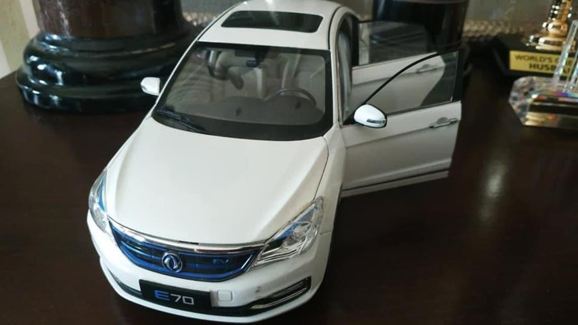 صورة السيارة الكهربائية