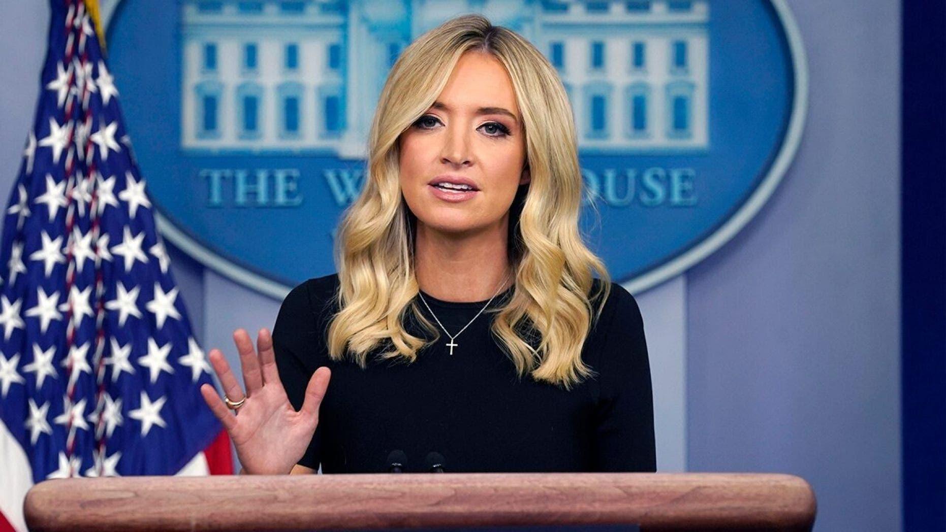 المتحدثة باسم البيت الأبيض كايلي ماكيناني