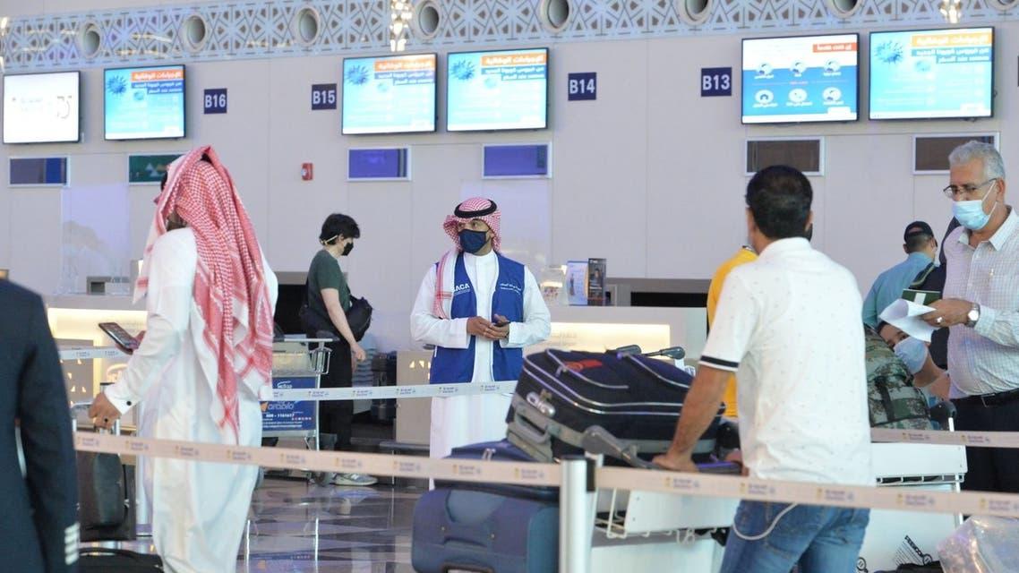 مطارات السعودية كورونا