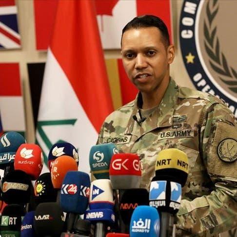 التحالف: خارجون على القانون يستهدفون قواتنا في العراق