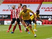 سيبايوس يقود أرسنال إلى نصف نهائي كأس إنجلترا