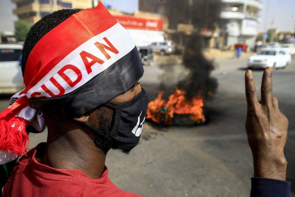 احتجاجات سابقة في الخرطوم - فرانس برس