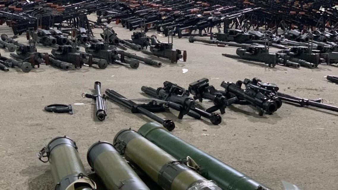 السعودية أسلحة قادمة من إيران