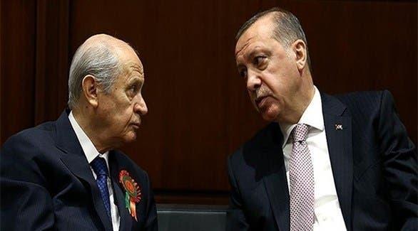 دولت بهتشلي وأردوغان