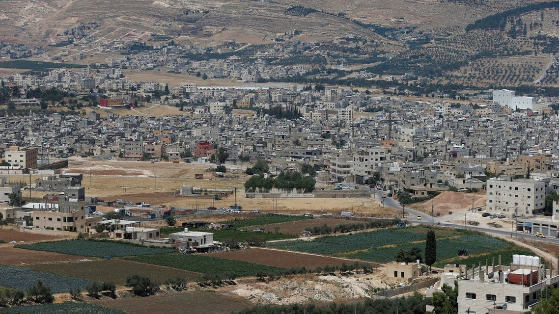 A general view shows Al-Baqaa Palestinian refugee camp, near Amman, Jordan June 16, 2020. (Reuters)