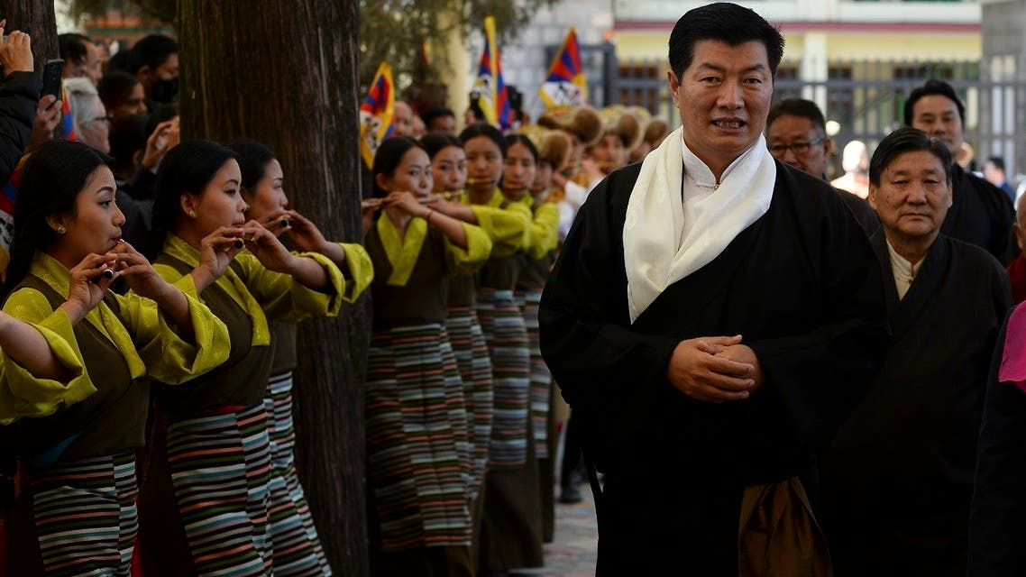 AFP_Lobsang Sangay, president of the Tibetan government-in-exile