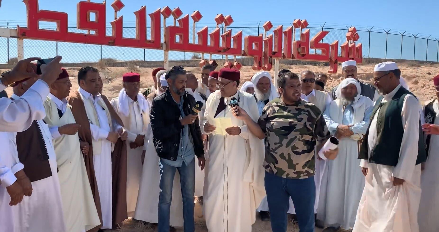 حراك قبلي في ليبيا لمنع وقوع إيرادات النفط في أيدي الوفاق في ميليشياتها