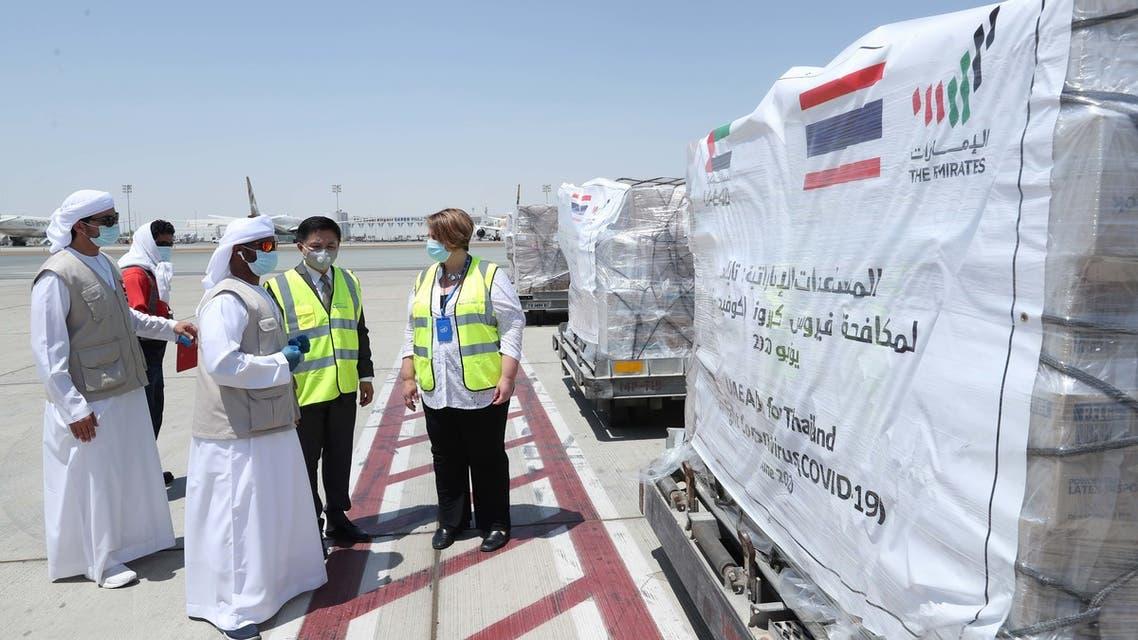 UAE coronavirus aid. (Supplied)