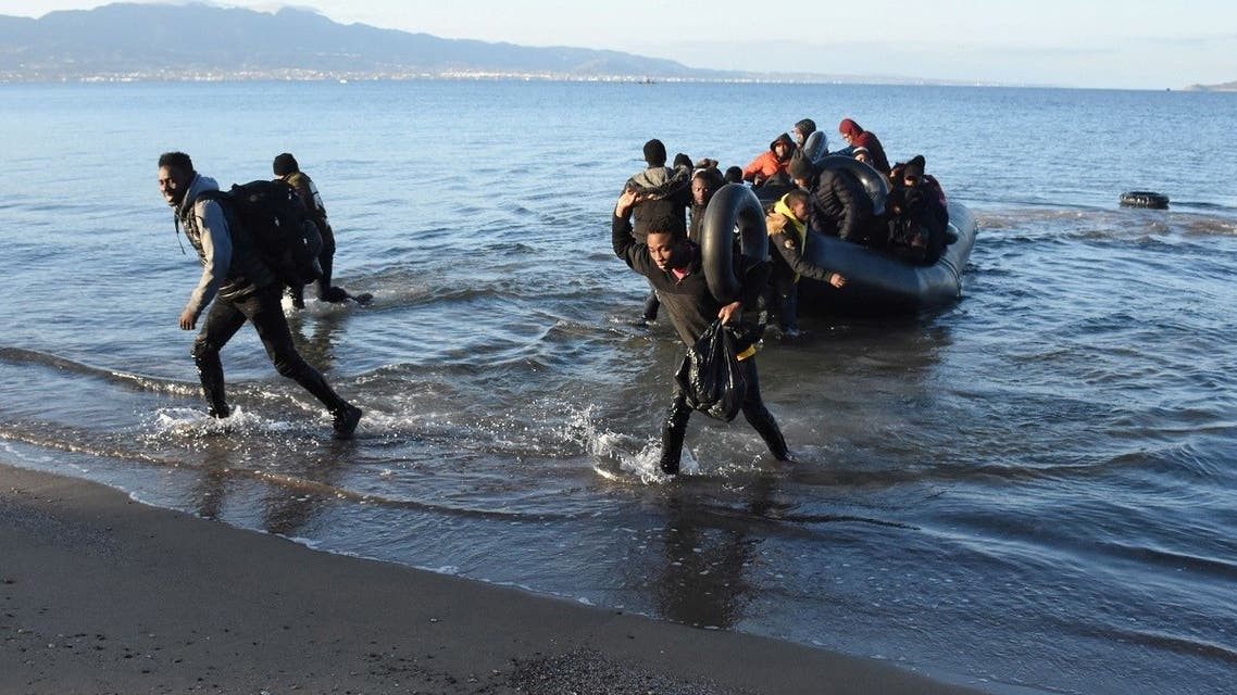 A file photo of migrants return to Turkish coastline after an unsuccessful attempt to reach the Greek island of Kos, in Bodrum, Turkey, March 2, 2020. (Reuters)