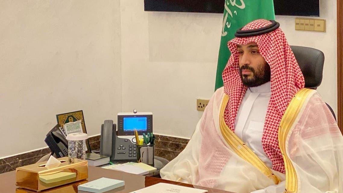 Saudi Arabia's Crown Prince Mohammed bin Salman SPA