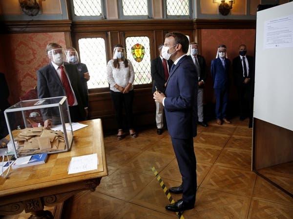 ماكرون يتلقى صفعة في الانتخابات المحلية الفرنسية